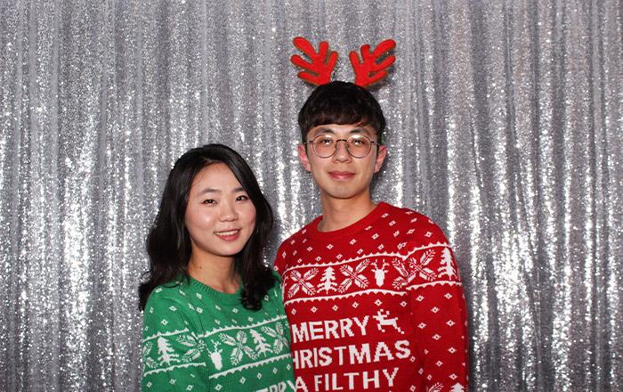 Christmas Photo Booth sample
