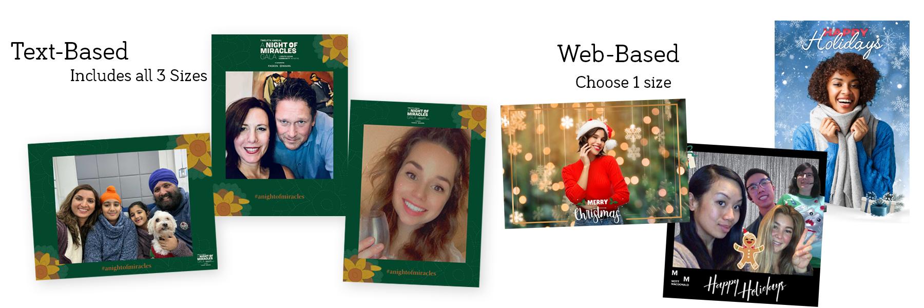 Virtual photobooth example