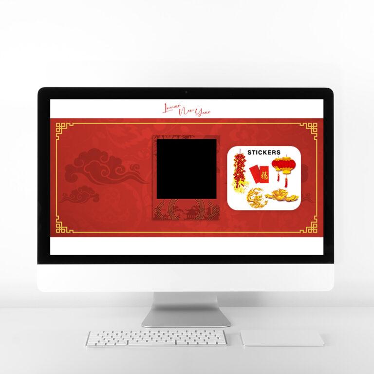 Lunar New Year Virtual Booth Desktop