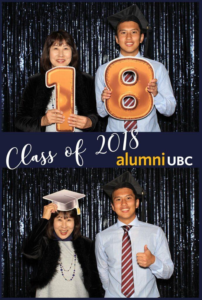 Alumni UBC Graduation Photo Booth Print 2018